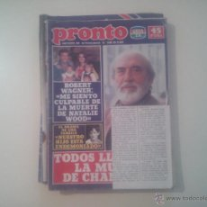 Coleccionismo de Revista Pronto: PRONTO Nº 510 1982. Lote 42715505