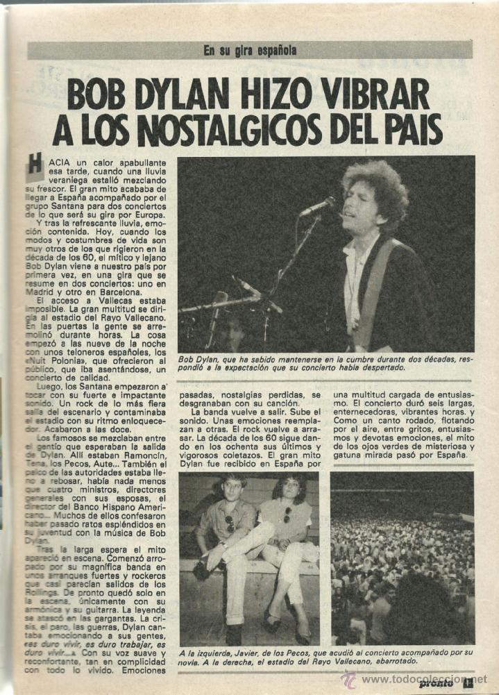Coleccionismo de Revista Pronto: PRONTO Nº 636 CON CAROLINA DE MONACO Y PROBLEMAS CON SU BEBE - CAMILO SESTO - BERTIN DE 1984 - Foto 3 - 42738000