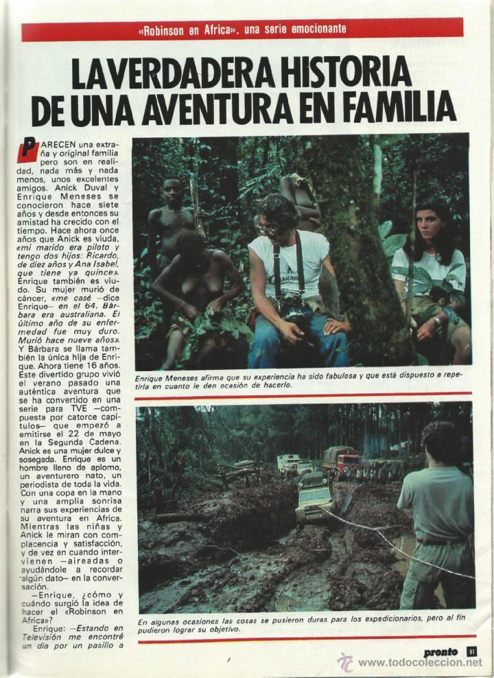 Coleccionismo de Revista Pronto: PRONTO Nº 636 CON CAROLINA DE MONACO Y PROBLEMAS CON SU BEBE - CAMILO SESTO - BERTIN DE 1984 - Foto 4 - 42738000