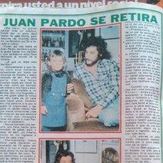 Collectionnisme de Magazine Pronto: RECORTES JUAN PARDO BARBARA REY. Lote 42766527