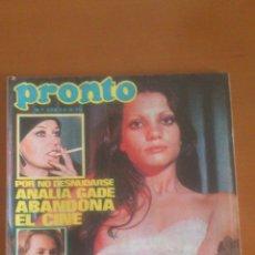 Coleccionismo de Revista Pronto: PRONTO Nº 228 *23/09/1976*CARMEN SEVILLA*RITA PAVONE*ANALIA GADE*MARIA JOSE CANTUDO. Lote 43352087