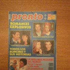 Coleccionismo de Revista Pronto: REVISTA PRONTO Nº 933 - 24- 3- 90. Lote 221849772