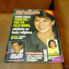 Coleccionismo de Revista Pronto: RV. 7/1999 PRONTO- CAROLINA,JESULIN,ROMINA POWER,PALOMA HURTADO,I. PANTOJA,. Lote 43558497