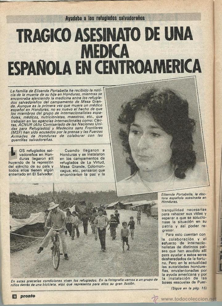 Coleccionismo de Revista Pronto: PRONTO Nº 636 CON CAROLINA DE MONACO Y PROBLEMAS CON SU BEBE - CAMILO SESTO - BERTIN DE 1984 - Foto 6 - 42738000