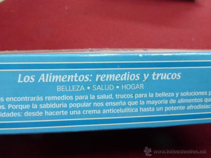 Coleccionismo de Revista Pronto: LOS ALIMENTOS. REMEDIOS Y TRUCOS. BELLEZA. SALUD. HOGAR. EL FICHERO DE LA BOTICA DE PRONTO - Foto 2 - 45459201