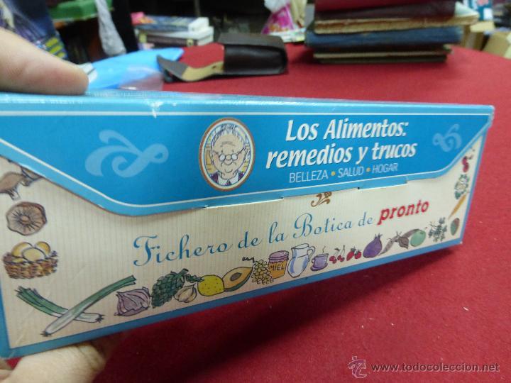 Coleccionismo de Revista Pronto: LOS ALIMENTOS. REMEDIOS Y TRUCOS. BELLEZA. SALUD. HOGAR. EL FICHERO DE LA BOTICA DE PRONTO - Foto 3 - 45459201