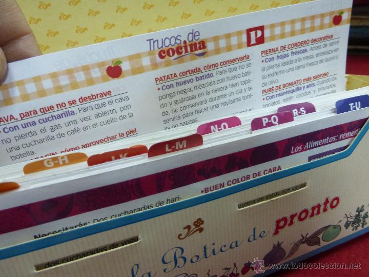 Coleccionismo de Revista Pronto: LOS ALIMENTOS. REMEDIOS Y TRUCOS. BELLEZA. SALUD. HOGAR. EL FICHERO DE LA BOTICA DE PRONTO - Foto 6 - 45459201