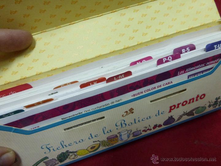 Coleccionismo de Revista Pronto: LOS ALIMENTOS. REMEDIOS Y TRUCOS. BELLEZA. SALUD. HOGAR. EL FICHERO DE LA BOTICA DE PRONTO - Foto 7 - 45459201