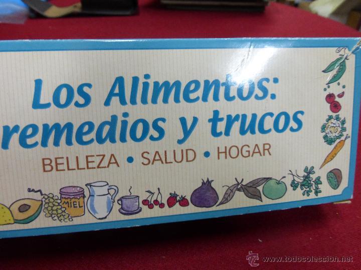 Coleccionismo de Revista Pronto: LOS ALIMENTOS. REMEDIOS Y TRUCOS. BELLEZA. SALUD. HOGAR. EL FICHERO DE LA BOTICA DE PRONTO - Foto 9 - 45459201