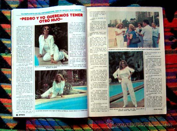 Coleccionismo de Revista Pronto: Revista PRONTO 1982 / ROCIO JURADO, MECANO, MANOLO ESCOBAR, JULIO IGLESIAS, FOTONOVELA COMPLETA - Foto 2 - 45977758