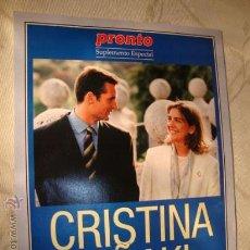 Coleccionismo de Revista Pronto: PRONTO. Lote 15805710