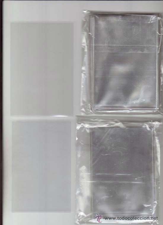 1 PAQUETE DE 100 FUNDAS INDIVIDUALES PARA DÉCIMOS LOTERÍA, ONCE, CROMOS, POSTALES, REVISTA (Papel - Revistas y Periódicos Modernos (a partir de 1.940) - Revista Pronto)