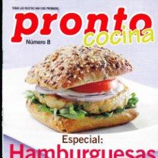 Coleccionismo de Revista Pronto: FOLLETO COCINA PRONTO ·· HAMBURGUESAS ORIGINALES , SABROSAS Y SANAS , 24 PAGS .. Lote 49014453