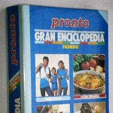 Coleccionismo de Revista Pronto: GRAN ENCICLOPEDIA DE LA FAMILIA POR LA REVISTA PRONTO DE PUBLICACIONES HERES SA S/F. Lote 50028835