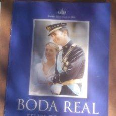Coleccionismo de Revista Pronto: ALBUM DE FOTOS: BODA REAL FELIPE Y LETIZIA. SUPLEMENTO PRONTO.. Lote 52613221