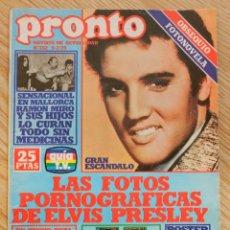 Coleccionismo de Revista Pronto: REVISTA PRONTO Nº 352 5-2-79 ELVIS PRESLEY KATE JACKSON JACLYN SMITH Nº352 FEBRERO 1979. Lote 52615844