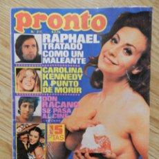 Coleccionismo de Revista Pronto: REVISTA PRONTO Nº 217 09/07/1976 MUERTE DE FOFO CUMPLEAÑOS LOS DIABLOS MASSIEL RAPHAEL JAMES CAAN. Lote 53283183