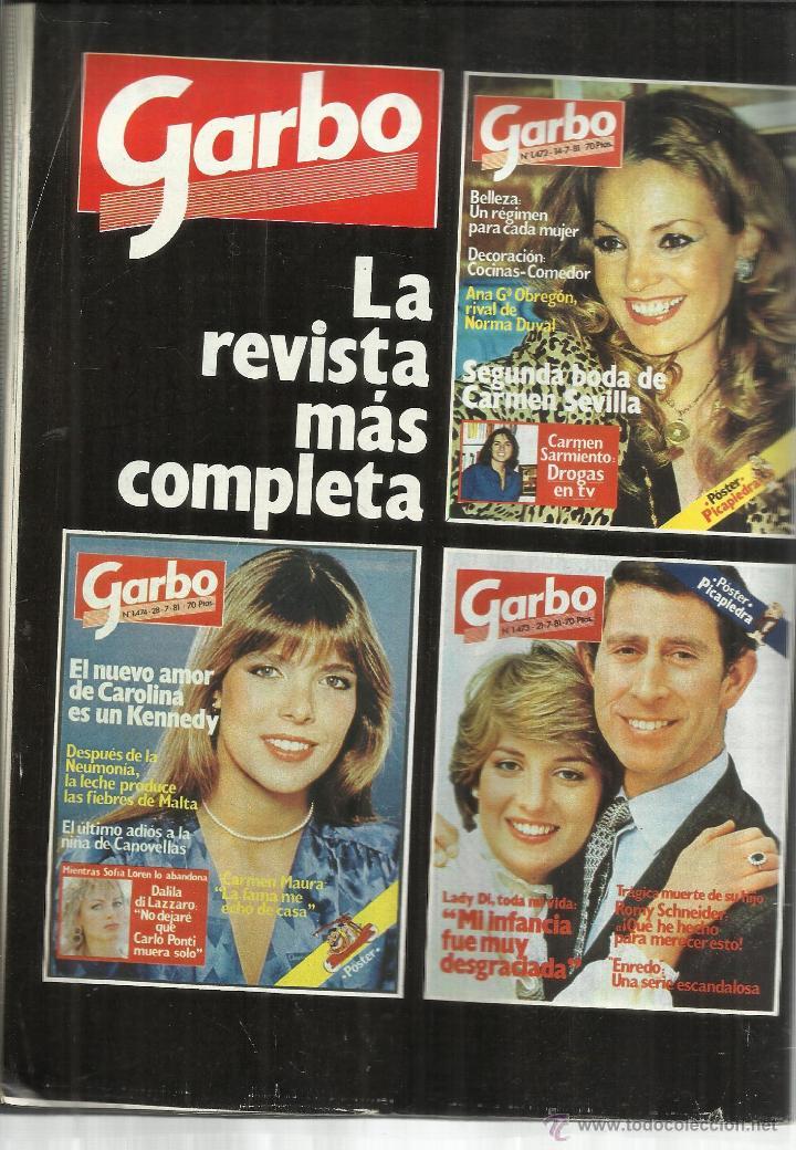 Coleccionismo de Revista Pronto: REVISTA PRONTO. AGOSTO. 1981. Nº 482. LADY DIANA. BERTÍN OSBORNE. MANOLO ESCOBAR - Foto 2 - 53719581