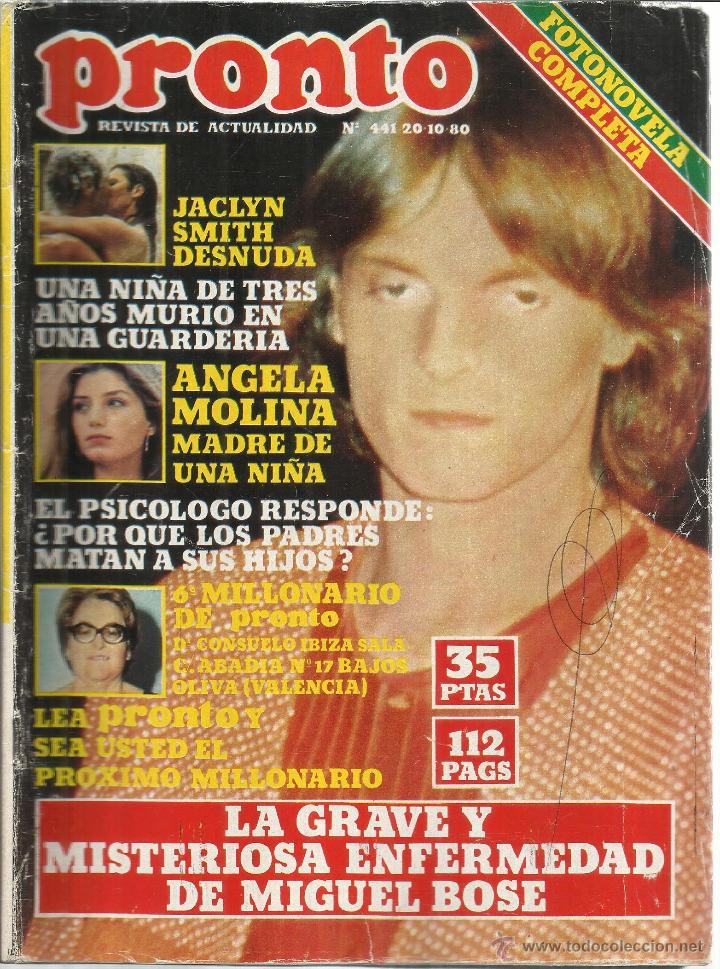 Revista Pronto Octubre 1980 Nº 441 Jaclyn S Sold At Auction