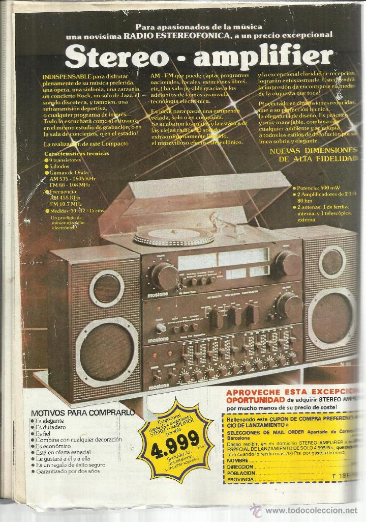 Coleccionismo de Revista Pronto: REVISTA PRONTO. JUNIO. 1981. Nº 476. LADY DIANA. PRÍNCIPE CARLOS.JULIO IGLESIAS. MICHAEL LANDON - Foto 2 - 53720121