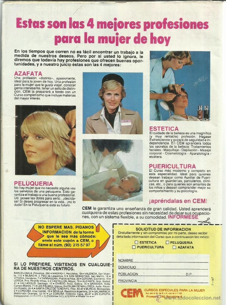 Coleccionismo de Revista Pronto: REVISTA PRONTO. JUNIO. 1981. Nº 472.CAROLINA DE MÓNACO. ANA GARCÍA OBREGÓN. MIGUEL BOSÉ - Foto 2 - 53739882