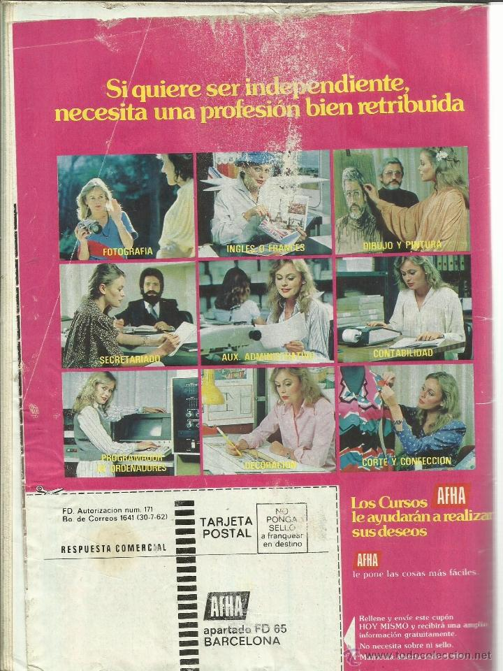 Coleccionismo de Revista Pronto: REVISTA PRONTO. ENERO. 1981. Nº 455. JULIO IGLESIAS. SARA MONTIEL. ANTONIO GONZÁLEZ - Foto 2 - 64177729