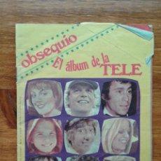 Coleccionismo de Revista Pronto: OBSEQUIO REVISTA PRONTO. EL ALBUM DE LA TELE. TIENE ALGUN CROMO. Lote 54051422