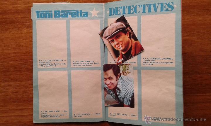 Coleccionismo de Revista Pronto: OBSEQUIO REVISTA PRONTO. EL ALBUM DE LA TELE. TIENE ALGUN CROMO - Foto 3 - 54051422