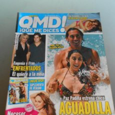 Coleccionismo de Revista Pronto: QMD 2012. Lote 54252047