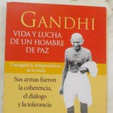 Coleccionismo de Revista Pronto: COLECCIONABLE PRONTO GANDHI. VIDA Y LUCHA DE UN HOMBRE DE PAZ. Lote 57677066