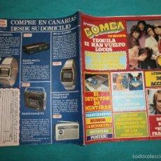 Coleccionismo de Revista Pronto: REVISTA PRONTO BOMBA Nº20 CON POSTER DE LA BATALLA DE LOS PLANETAS. Lote 58638781