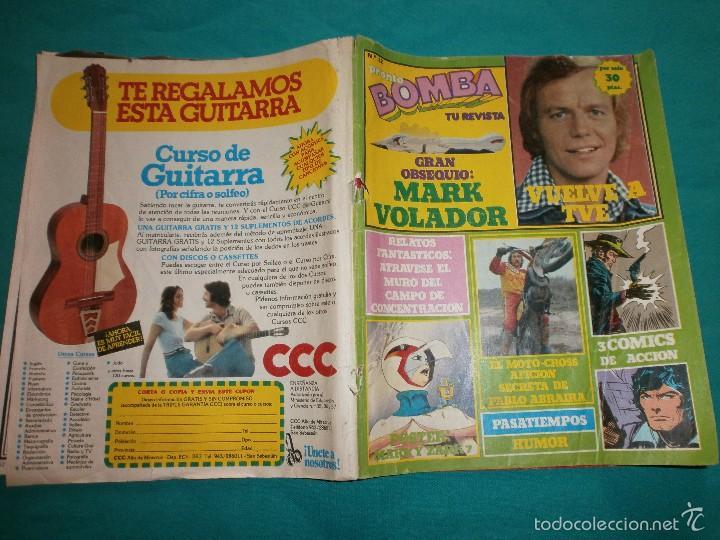 REVISTA PRONTO BOMBA Nº22 CON POSTER DE LA BATALLA DE LOS PLANETAS (Papel - Revistas y Periódicos Modernos (a partir de 1.940) - Revista Pronto)