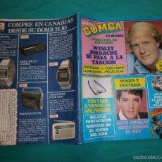Coleccionismo de Revista Pronto: REVISTA PRONTO BOMBA Nº21 CON POSTER DE LA BATALLA DE LOS PLANETAS. Lote 58638848