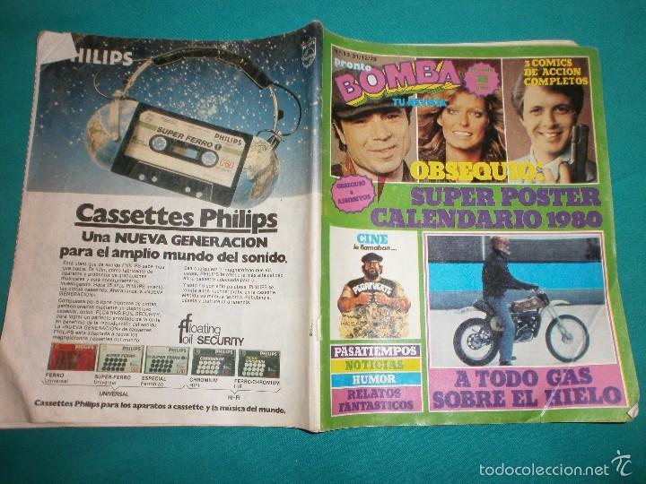 REVISTA PRONTO BOMBA Nº13 (Papel - Revistas y Periódicos Modernos (a partir de 1.940) - Revista Pronto)
