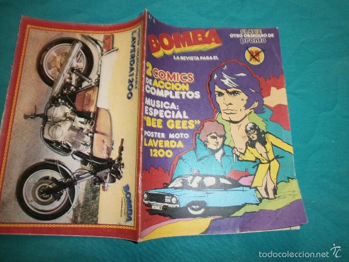 REVISTA PRONTO BOMBA Nº2 (Papel - Revistas y Periódicos Modernos (a partir de 1.940) - Revista Pronto)