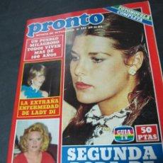 Coleccionismo de Revista Pronto: REVISTA PRONTO 11/82 UN DOS TRES RESPONDA OTRA VEZ MAYRA GOMEZ KEMP KIKO LEDGARD BEATRIZ CARVAJAL. Lote 58659559