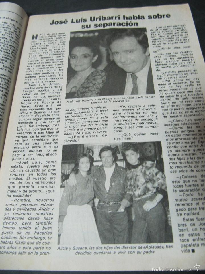 Coleccionismo de Revista Pronto: REVISTA PRONTO 11/82 UN DOS TRES RESPONDA OTRA VEZ MAYRA GOMEZ KEMP KIKO LEDGARD BEATRIZ CARVAJAL - Foto 5 - 58659559