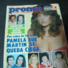Coleccionismo de Revista Pronto: PRONTO 2/83 UN DOS TRES MAGIN FARRAH FAWCETH CASIMIRO LUCIA PEDRO RUIZ JEAN MARSH FERNANDO ESTESO. Lote 58835061