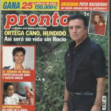 Coleccionismo de Revista Pronto: PRONTO.. Lote 58856731