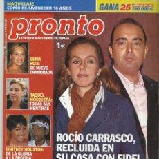 Coleccionismo de Revista Pronto: PRONTO.. Lote 58920125