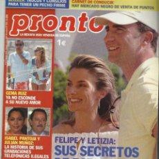 Coleccionismo de Revista Pronto: PRONTO.. Lote 58920365