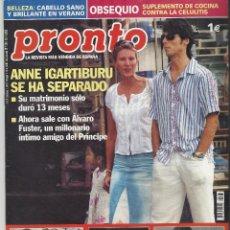 Coleccionismo de Revista Pronto: PRONTO.. Lote 58920450