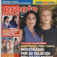 Coleccionismo de Revista Pronto: PRONTO.. Lote 58920535