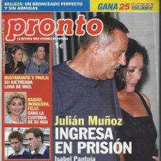 Coleccionismo de Revista Pronto: PRONTO.. Lote 58920605