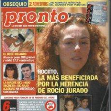 Coleccionismo de Revista Pronto: PRONTO.. Lote 58920715
