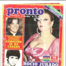 Coleccionismo de Revista Pronto: REVISTA PRONTO Nº 531 DEL 12/07/1982. Lote 61936704