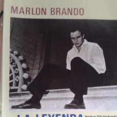 Coleccionismo de Revista Pronto: MARLON BRANDO - 4 PAGES - COLOUR PHOTOS. Lote 63120904