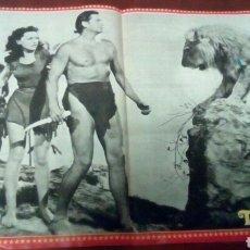 Coleccionismo de Revista Pronto: PÓSTER TARZAN, REVISTA PRONTO MEDIDAS 38×26 AÑOS 70 . Lote 66282511