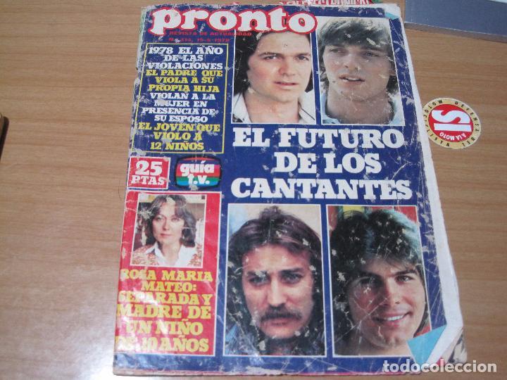 REVISTA PRONTO AÑO 1978 (Papel - Revistas y Periódicos Modernos (a partir de 1.940) - Revista Pronto)