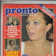 Coleccionismo de Revista Pronto: REVISTA PRONTO Nº 514 AÑO 1982. . Lote 69363009